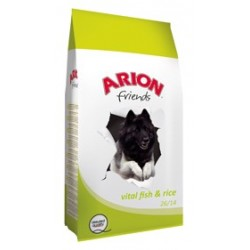 ARION FRIENDS FISH & RICE VITAL 15 KG